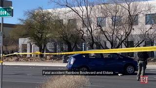 1 person dead in 2-vehicle crash in central Las Vegas – VIDEO