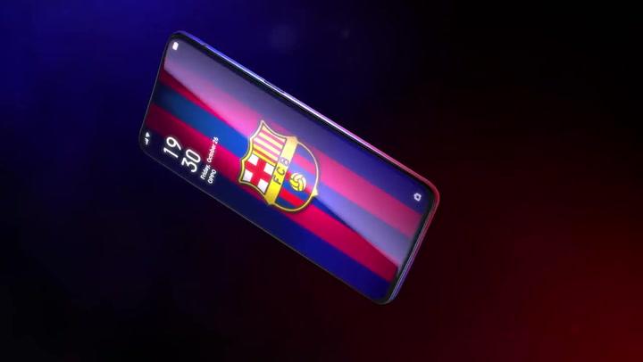 Así es el nuevo OPPO Reno FC Barcelona Edition