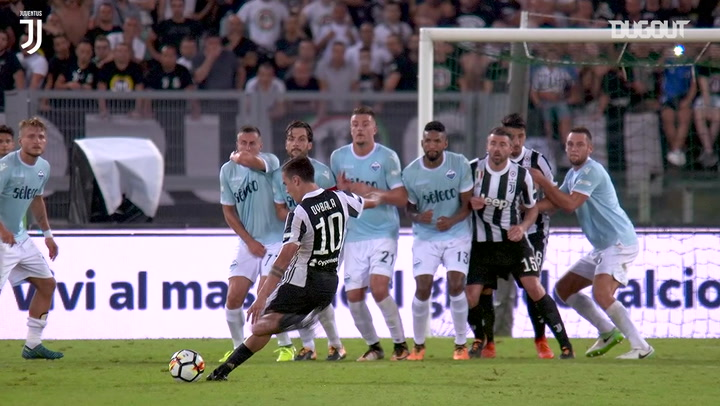 Dybala nets superb free-kick against Lazio