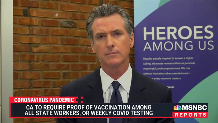 Newsom: Not Getting Vaccinated Is Like Driving Drunk