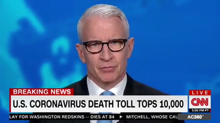 CNN's Cooper: Trump 'Hijacking' Coronavirus Briefings to 'Rewrite the History,' Attack Reporters
