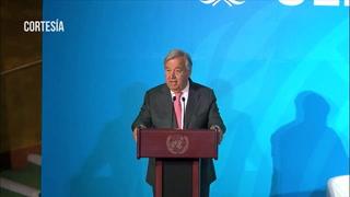 Trump hace aparición sorpresa en cumbre del clima de la ONU