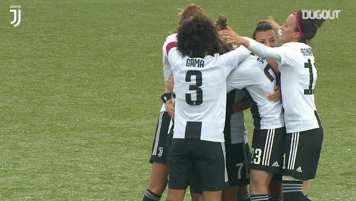Valentina Cernoia's wonder goal vs Sassuolo