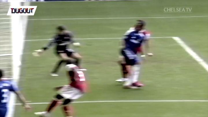 Throwback: Old school skill vs Arsenal!