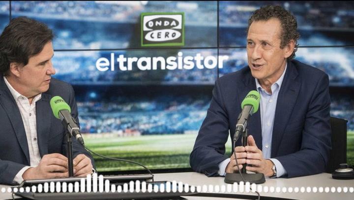 Jorge Valdano elogia la figura de Fede Valverde en El Transistor de Onda Cero