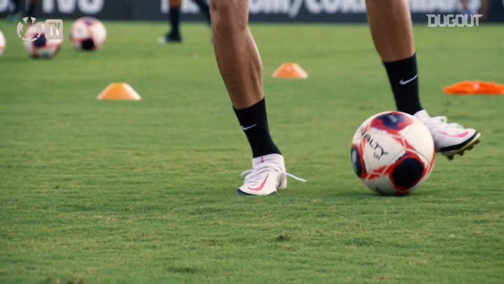 Corinthians are back to train after Brazilian Cup win