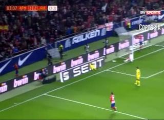 El golazo sin ángulo de Antoine Griezmann al Girona en Copa
