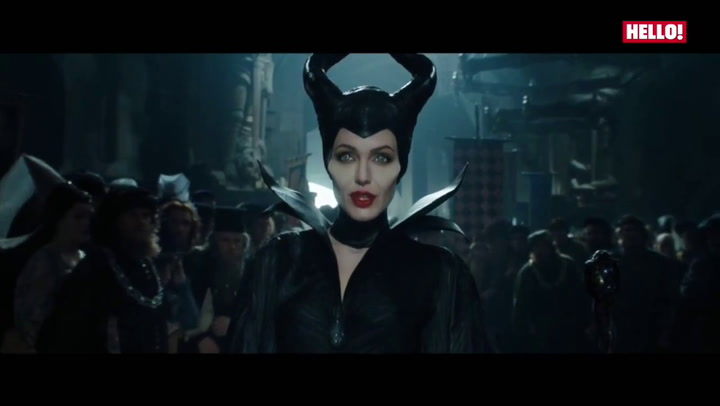 Maleficent stars Angelina Jolie and Elle Fanning talk to HELLO! about Knox and Vivienne, and Disney villains at the film\'s star-studded event at Kensington Palace