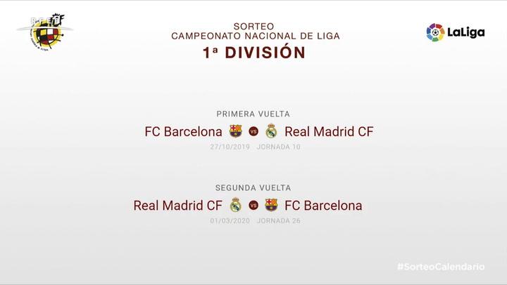 Los Clásicos de la temporada 2019-2020