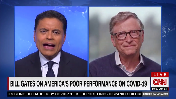 Bill Gates: Trump's Pandemic Response 'Mind-Blowing'- 'No Other Country Has This Testing Insanity'