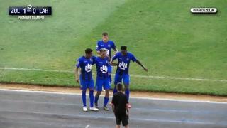 Con gol de Bryan Moya el Zulia clasifica a la liguilla en Venezuela