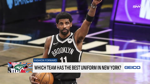 Which New York team has the best uniforms?