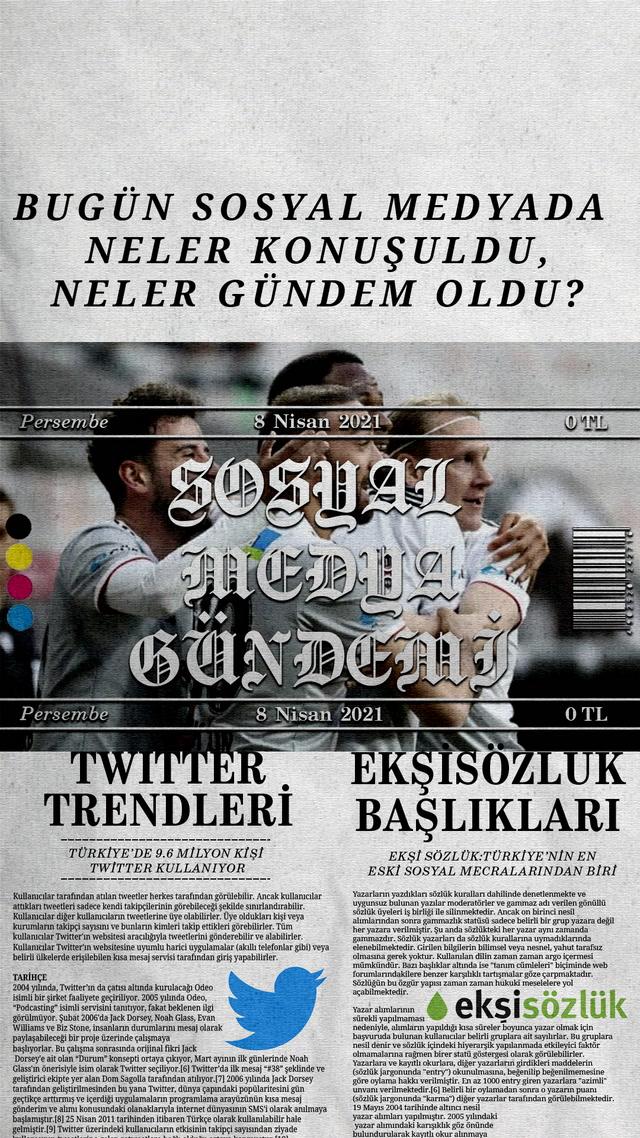 Sosyal medyayı sallayanlar - 8 Nisan