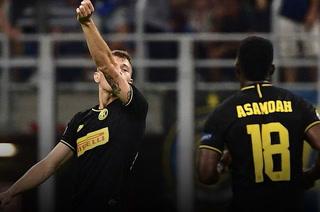 El Inter in extremis logra un sufrido empate ante el Slavia Praga