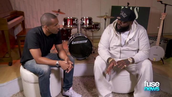 "Shows: Fuse News: Rick Ross Details Jay Z Collabo ""The Devil Is a Lie"""