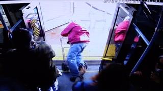 74-åring dyttet ut av buss - døde