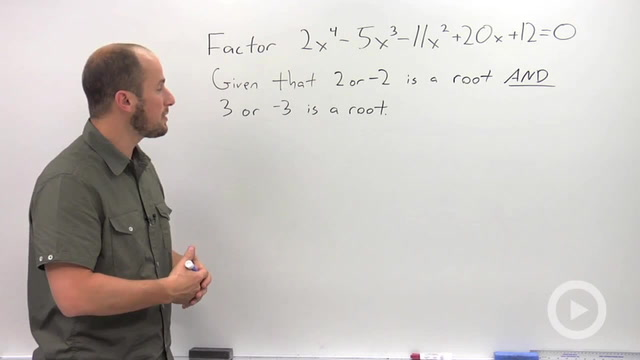 Using Synthetic Division to Solve an Equation - Problem 1