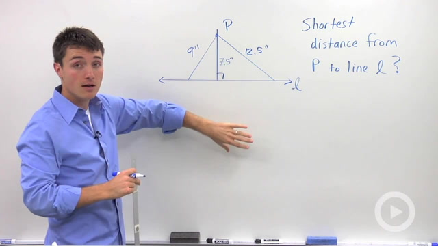Constructing a Perpendicular to a Line