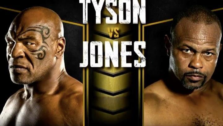 Así será el combate entre Tyson y Roy Jones