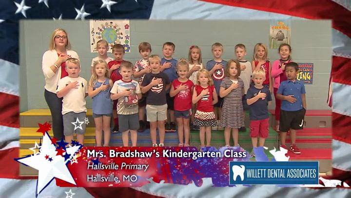 Hallsville Primary - Mrs. Bradshaw - Kindergarten