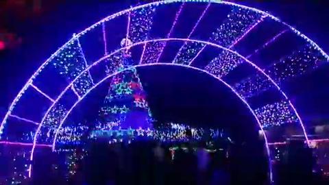 Tegucigalpa: Inauguran atractiva villa navideña en la Villa Olímpica