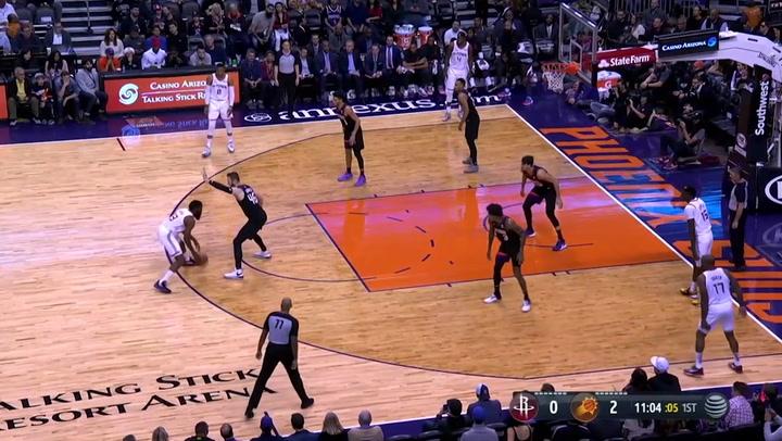 James Harden (Rockets), el más destacado de la jornada de la NBA del 21 de diciembre 2019
