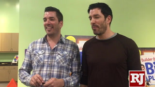 'Property Brothers' speak about new children's book