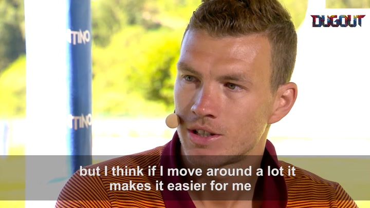 Dzeko: The all-round forward