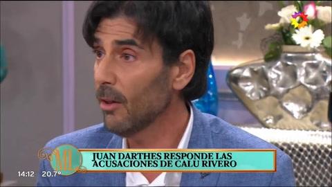 Darthés se defendió de las denuncias de Calu Rivero