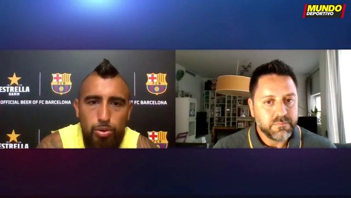 Los planes de futuro de Arturo Vidal y su denuncia al Barça