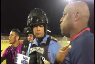 Hernán Medford explota y reclama a Héctor Rodríguez por el penal no sancionado contra Olimpia