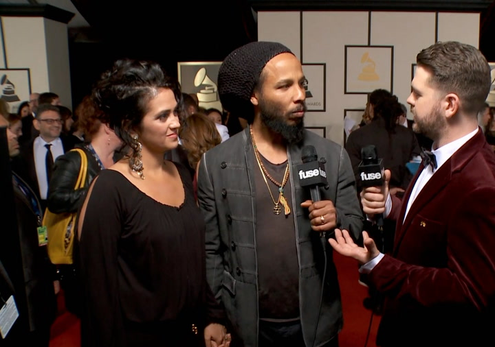 Shows: Grammmys 2014:  Ziggy Marley Discusses How The GRAMMYs Have Grown