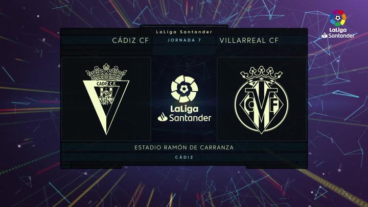 LaLiga Santander (J7): Cádiz 0-0 Villarreal