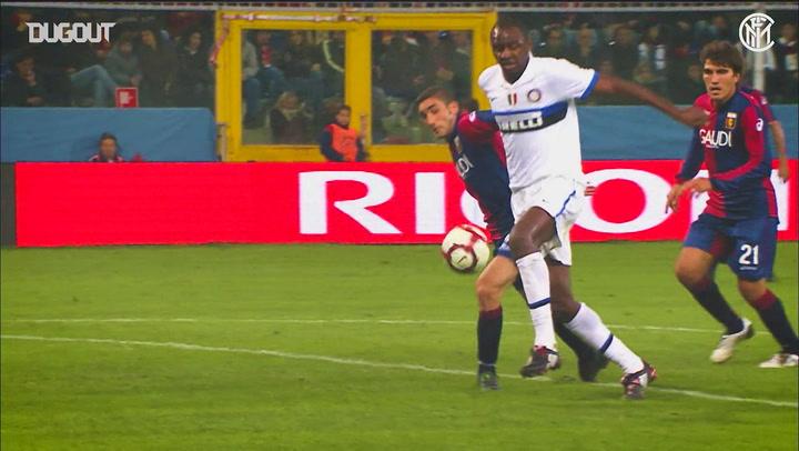 Inter's best five goals away at Genoa