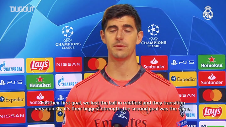 Courtois: 'Our fight and our spirit were fantastic'