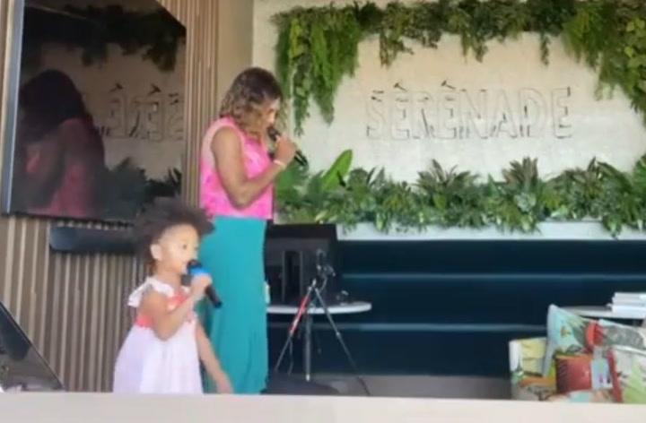 Alexis Olympia, hija de Serena Williams, también canta
