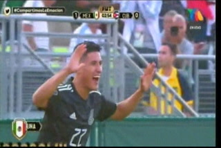 ¡GOL DE MÉXICO! Uriel Antuna abre el marcador 1-0 ante Cuba en la Copa Oro