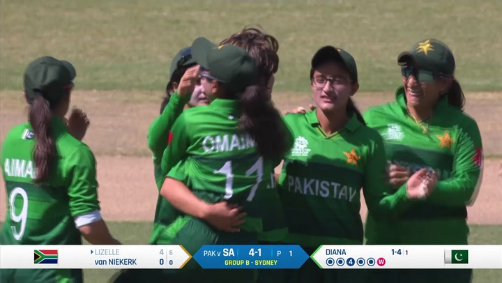 SA Beat Pakistan to book place in semifinal