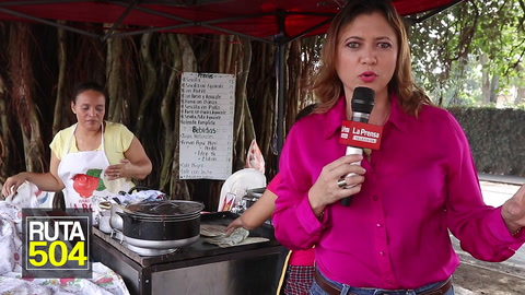 RUTA 504 Las ricas baleadas en San Pedro Sula