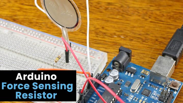 Arduino Force Sensing Resistor (FSR)