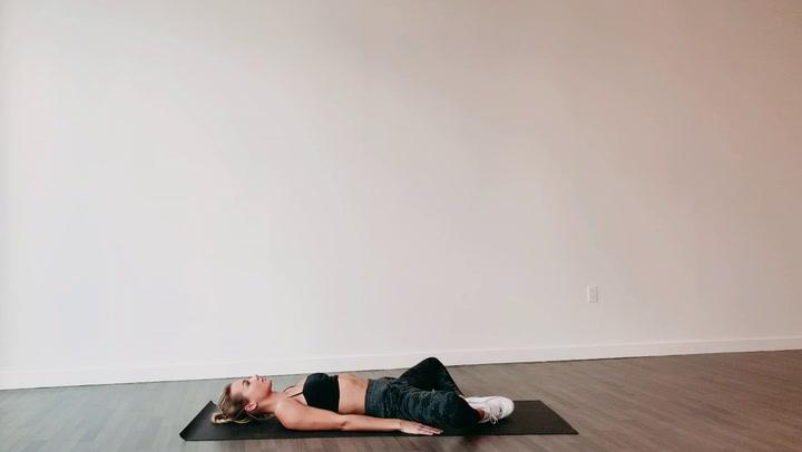 Reclining Bound Angle Pose