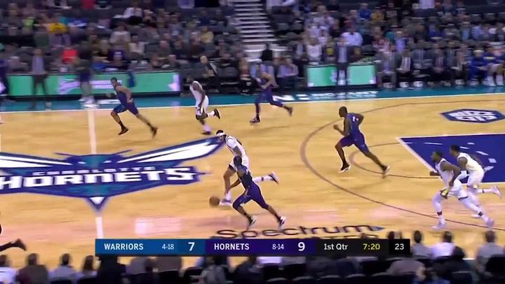 Devonte Graham  (Hornets), el más destacado de la jornada de la NBA
