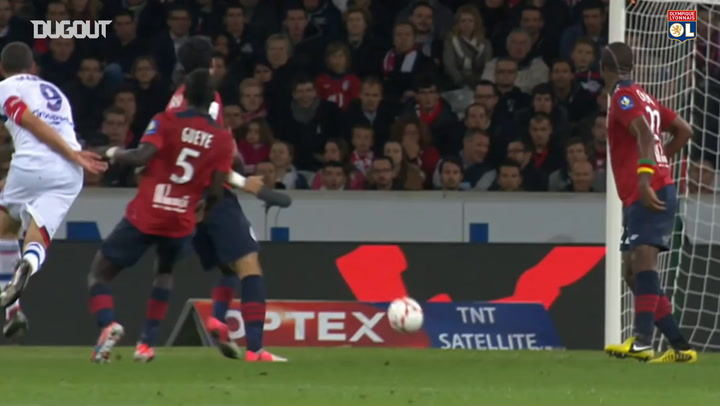 All Lisandro Lopez's goals vs Lille