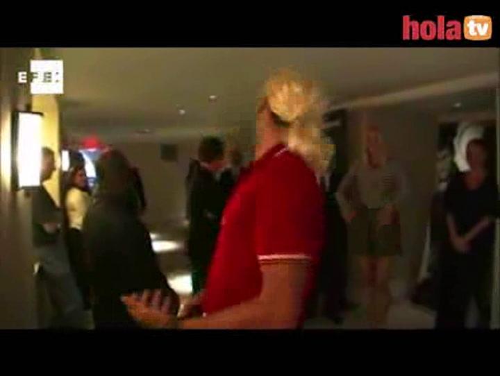 Djokovic se mete en la piel de Sharapova