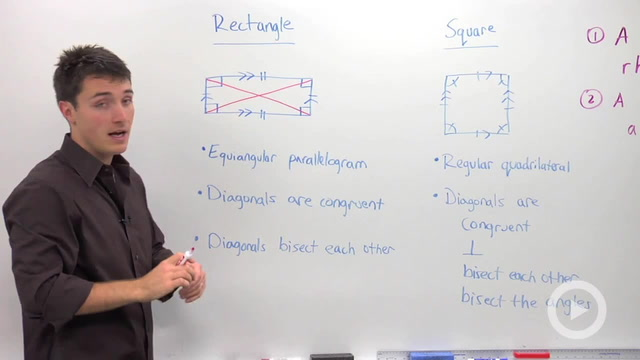 Rectangle and Square Properties