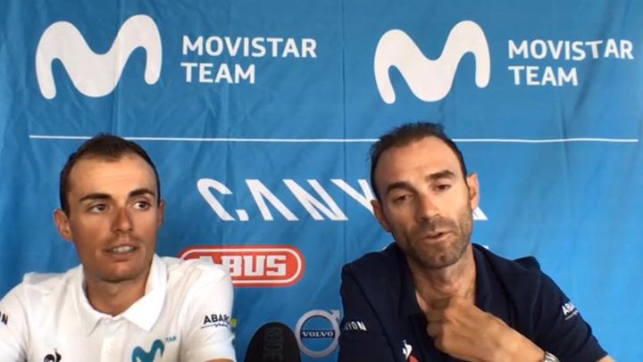 """Valverde: """"Creo que Jumbo-Visma está haciendo exhibiciones sin sentido"""""""