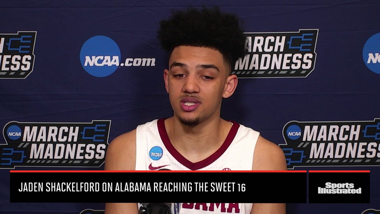 Jaden Shackelford on Alabama reaching the Sweet 16
