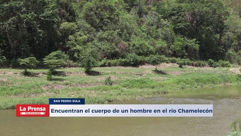 Encuentran el cuerpo de un hombre flotando en el río Chamelecón