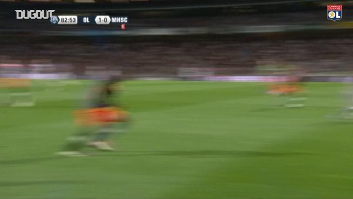 Olympique Lyonnais' best goals vs Montpellier at home