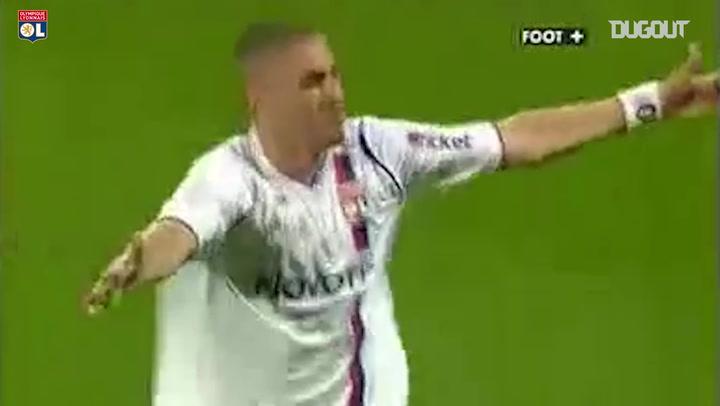Throwback: Karim Benzema's Final OL Goal
